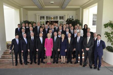 Quentin Bryce and Tony Abbott's government