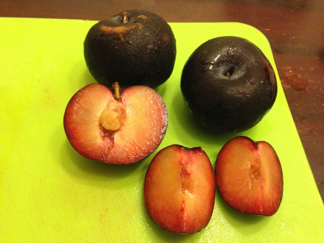black amber plums